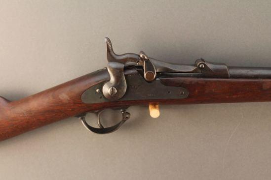 antique SPRINGFIELD MODEL 1873, 45/70 SINGLE SHOT RIFLE, S#27686
