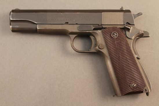 handgun COLT MODEL 1911 A-1, 45 ACP SEMI-AUTO PISTOL, S#1972291