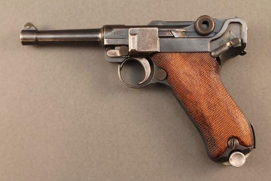 handgun DWM MODEL PO-8, 9MM SEMI-AUTO PISTOL, S#5416d