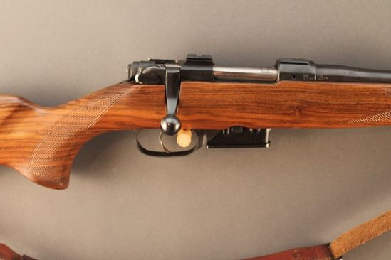 CZ  MODEL 527, .22 HORNET BOLT ACTION RIFLE, S#57778