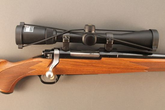 RUGER M77 HAWKEYE, 7MM-08CAL BOLT ACTION RIFLE, S#ONRA-0914