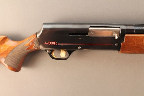 BROWNING MODEL A500R, .12GA. SEMI-AUTO SHOTGUN, S#75INY58806