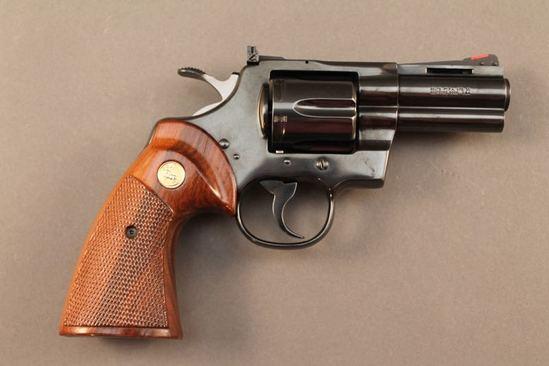 handgun COLT PYTHON, 357MAG DA REVOLVER, S#KO3O32