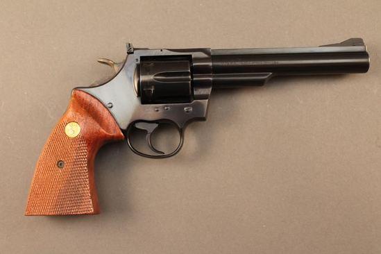 handgun COLT TROOPER MK III, .357MAG CAL DA  REVOLVER, S#L45358