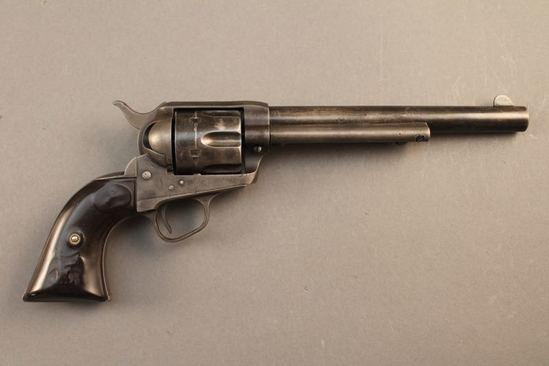 antique COLT SAA FRONTIER SIX SHOOTER, 44/40CAL SA REVOLVER, S#172181