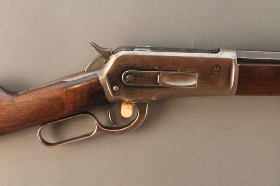 antique WINCHESTER MODEL 1886, 40-65 LEVER ACTION RIFLE, S#108546