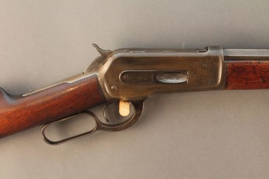 antique WINCHESTER MODEL 1886,  40-65 LEVER ACTION RIFLE, S#39315