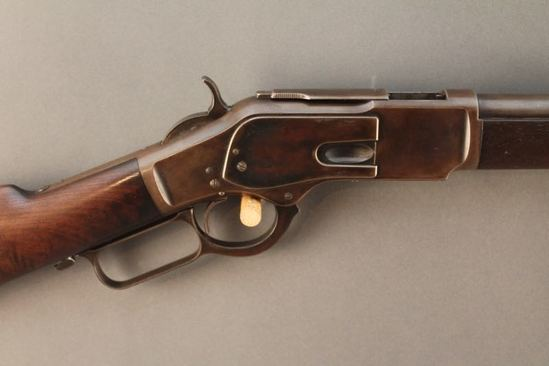 antique WINCHESTER MODEL 1873,  44-40 LEVER ACTION RIFLE S#39727