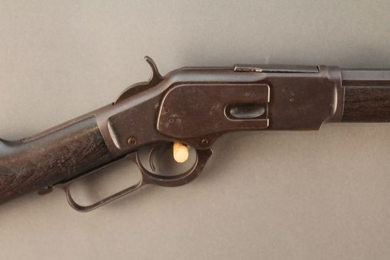 antique  WINCHESTER  1873 3RD MODEL, 32-20 LEVER ACTION RIFLE, S#329889B