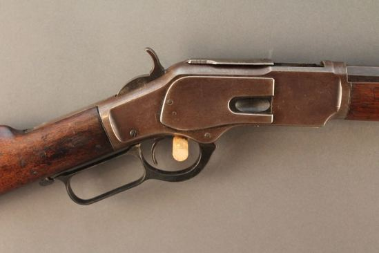 antique WINCHESTER MODEL 1873 38-40 LEVER ACTION RIFLE, S#142760A
