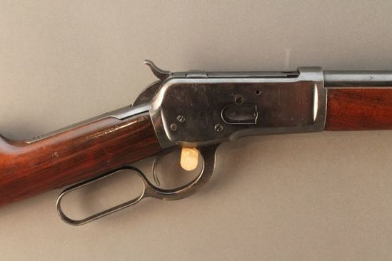 antique WINCHESTER MODEL 1892, 38-40 LEVER ACTION RIFLE, S#42764