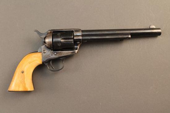 antique COLT SAA, 38/40 SA REVOLVER, S#175055