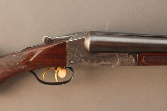 ITHACA HAMMERLESS GRADE 3 SXS, 12GA SHOTGUN, S#301967