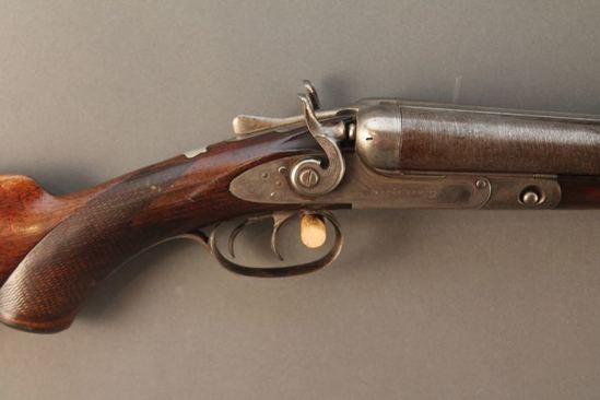 antique PARKER BROS.  12GA  SXS SHOTGUN, S#28413