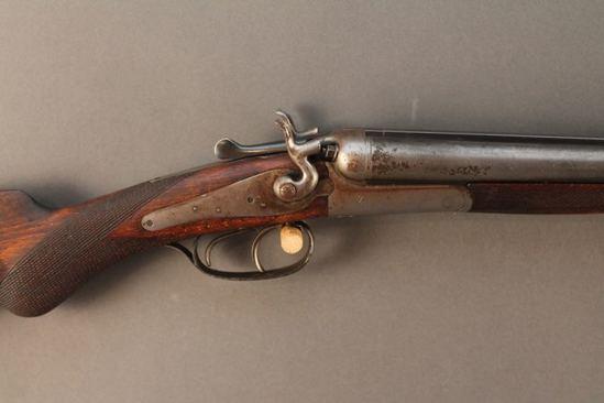 antique  HUSQVARNA , 16GA, SXS  SHOTGUN, S#189742