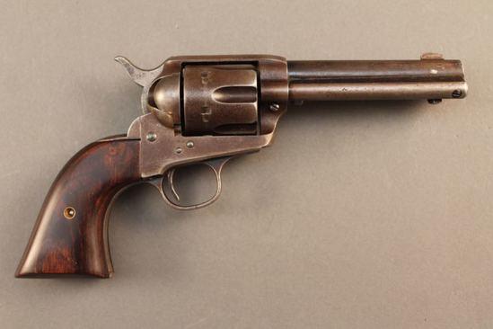 antique COLT SAA 32/20 SA REVOLVER, S#173738