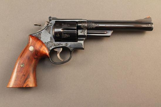 handgun SMITH & WESSON PRE MODEL 29 HAND EJECTOR, 44MAG. REVOLVER, S#S168759