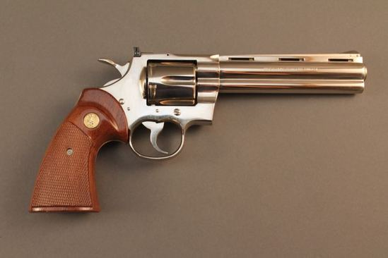 handgun COLT PYTHON, 357CAL. DA REVOLVER, S#14315E