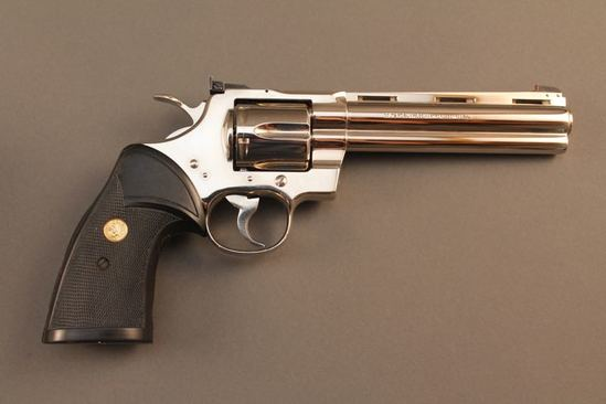 handgun COLT PYTHON, 357 MAG. REVOLVER, S#AL1102