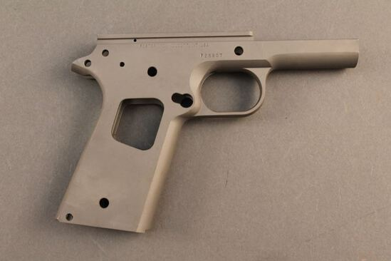 handgun FOSTER GOV'T MODEL SEMI-AUTO PISTOL FRAME, S#F23807