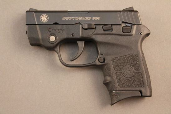 handgun SMITH & WESSON BODYGUARD, 380CAL SEMI-AUTO PISTOL, S#EAL2005