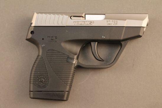 handgun TAURUS PT738, 380CAL SEMI-AUTO PISTOL, S#46699A