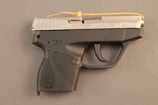 handgun TAURUS PT738, 380CAL SEMI-AUTO PISTOL, S#36249D