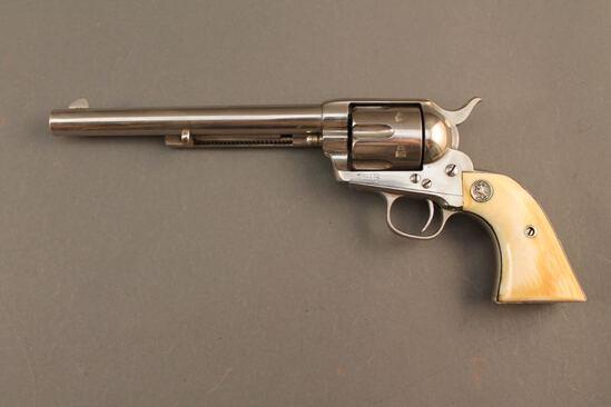 antique handgun COLT SAA .45 COLT CAL REVOLVER, S#61502