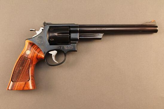 handgun SMITH & WESSON MODEL 57-1, 41 MAG CAL DA REVOLVER, S#AHV4524