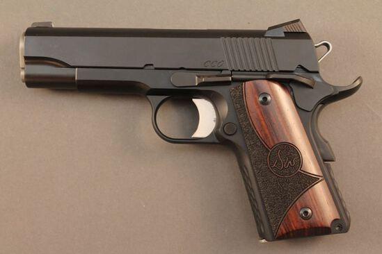 handgun DAN WESSON MODEL CCO SEMI-AUTO .45ACP CAL PISTOL, S#1405668