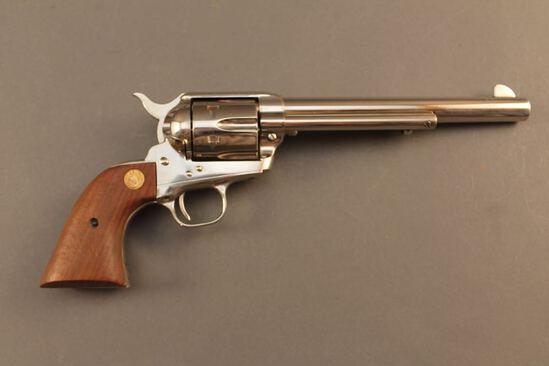 handgun COLT SAA .45 COLT CAL REVOLVER, S#SA18580