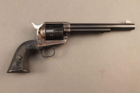 handgun COLT SAA .45 COLT CAL REVOLVER, S#SA12009