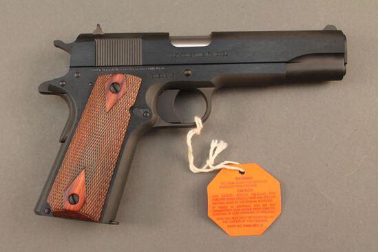 handgun COLT GOVERNMENT MODEL .38SUPER SEMI-AUTO PISTOL, S#2839215