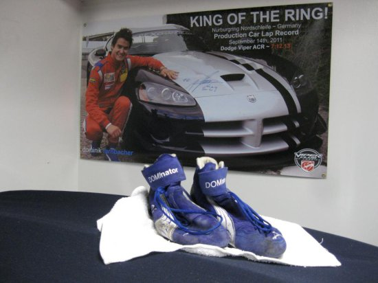 DOMINIK FARNBACHER'S NURBURGRING RACING SHOES!