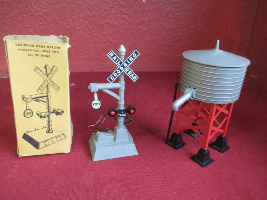 Vintage Marx Water Tower & Signal