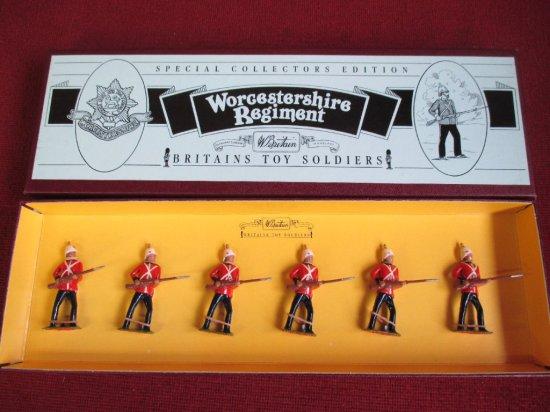 Britains 8802 Worcestershire Regiment
