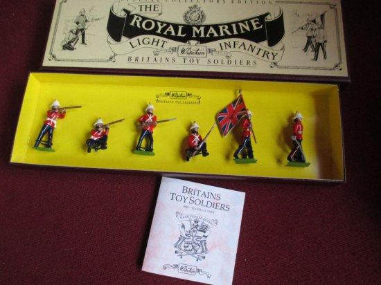 Britains 8808 Royal Marine Light Infantry