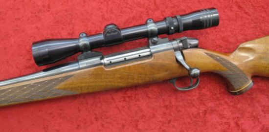 German Mark V Weatherby Left Handed Rifle 300 WBY