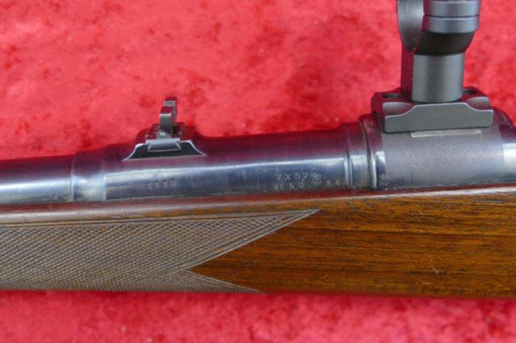 Lot: Mannlicher Schoenauer 7mm Mauser Rifle | Proxibid Auctions