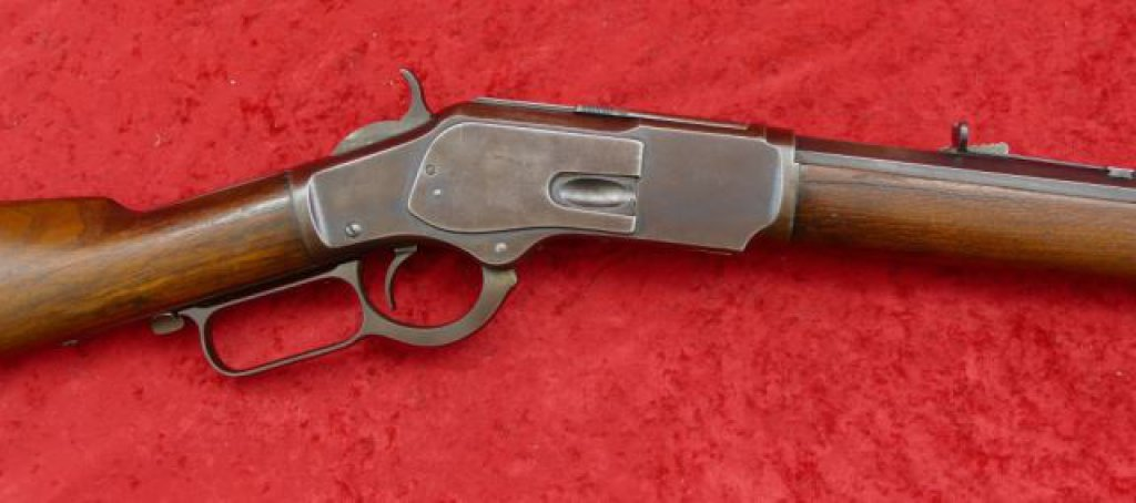 Winchester 1873 Rifle in 38 WCF cal.