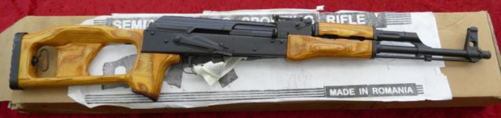 Romanian AK47 Rifle