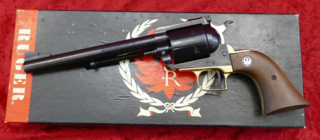 3 Screw Ruger Super Blackhawk Revolver