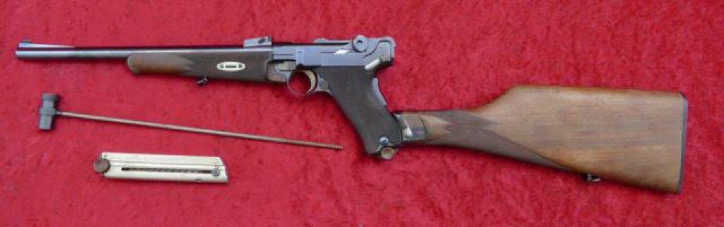 Lot: Fine 1902 Commercial Luger Carbine | Proxibid Auctions