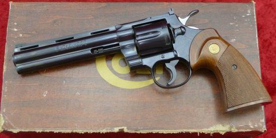 NIB Colt Python 357 Revolver | Firearms & Military Artifacts
