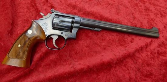 Smith & Wesson Model 48-4 22 Magnum Revolver