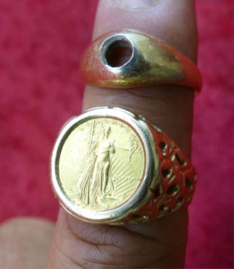 Pair of Gold Rings