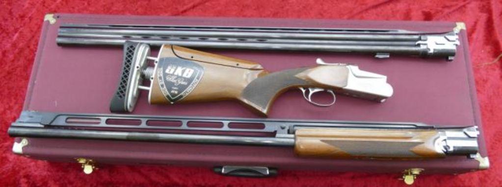 Lot: SKB Model 85TSS 2 bbl  Set Trap Gun | Proxibid Auctions
