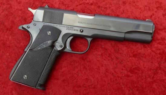 Colt Series 70 45 cal 1911 Pistol
