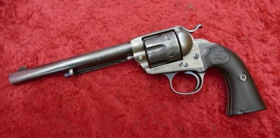 Early Colt Bisley Single Action Revolver