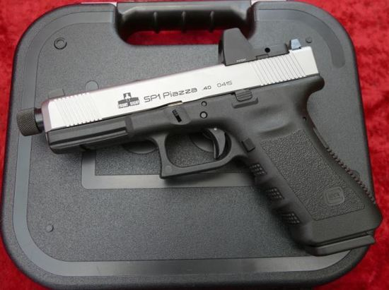 Custom Glock 40 cal Pistol